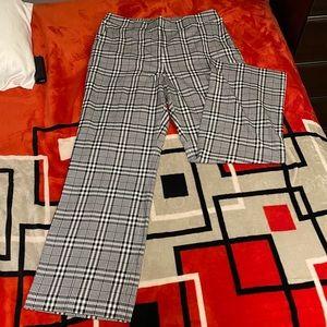 COPY - NWOT Express High Rise Wide Leg Plaid Pants